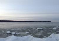 Балтийское море, лед