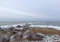 Рижский залив зимой