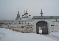 Гороховец Никольский монастырь зимой