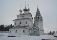 Троицкая церковь Никольский монастырь, Гороховец