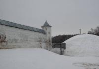 стена Никольского монастыря в Гороховце