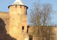 Иваногород - крепость зимой