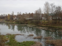 Река Кашина, город Кашин