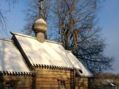 Деревянная церковь, Старая Ладога