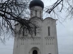 Церковь Покрова на Нерли без людей