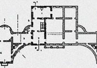 План главного дома Никольское - Черенчицы