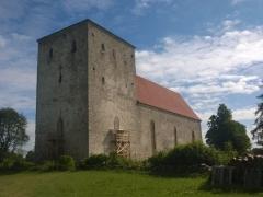 Церковь в Пейде, Сааремаа
