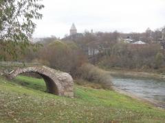 руины моста, Смоленск