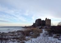 Замок Тоолсе зимой, Эстония