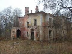 Усадьба Шереметьевых Высокое, главный дом, руины