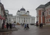 Арзамас Воскресенский собор на площади