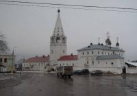 Гороховец, Пужалова гора и Сретенский монастырь