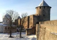 Крепость на границе с Эстонией