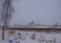 вид на кирилло-белозерский монастырь