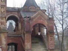 Усадьба Шереметьевых Высокое, церковь, архитектор Бенуа